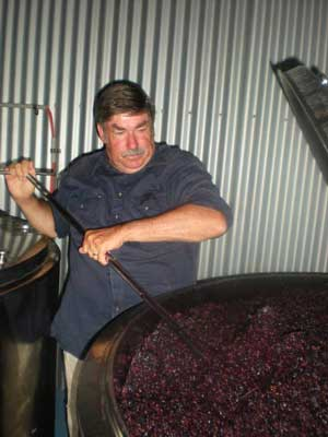 Phillip Making Wine